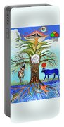 Tree Of Life #5 Portable Battery Charger
