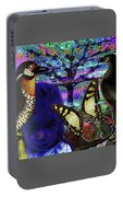 Tree Of Life  A W A K E N I N G Portable Battery Charger by Joseph Mosley