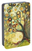 Tree Of Life In Autumn Portable Battery Charger