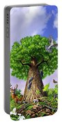 Tree Of Life Portable Battery Charger