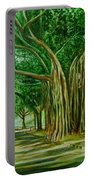 Tree Old Guy Portable Battery Charger
