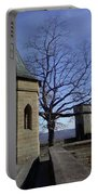 Tree On The Castle Wall Portable Battery Charger