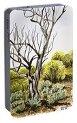 Tree Painting Portable Battery Charger
