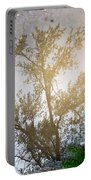 Tree Reflection Upside Down 1 Portable Battery Charger