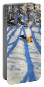 Tree Shadows Morzine Portable Battery Charger