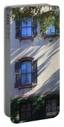 Tree Shadows On Savannah House Portable Battery Charger