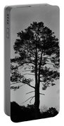 Tree Silhouette In The Dark Portable Battery Charger
