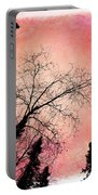 Tree Silhouettes I Portable Battery Charger