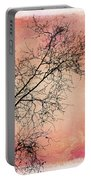 tree silhouettes II Portable Battery Charger