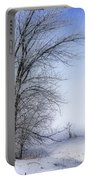 Tree-snow-fog Portable Battery Charger