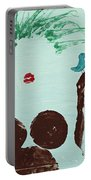 Tree With Blue Birds Portable Battery Charger