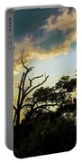 Treeline Silhouette Portable Battery Charger