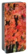 Trees Aflame Portable Battery Charger