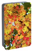 Trees And Flowers In Hawaii Portable Battery Charger