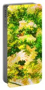 Trees And Leaves 1 Portable Battery Charger