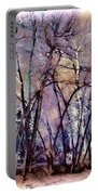 Trees Are Poems That The Earth Writes Upon The Sky Portable Battery Charger