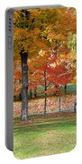 Trees Begins Autumn Color Portable Battery Charger