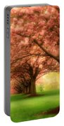 Trees In A Row Portable Battery Charger