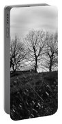 Trees In April Portable Battery Charger