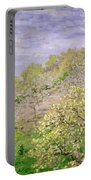 Trees In Blossom Portable Battery Charger