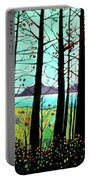 Trees In Fall Portable Battery Charger