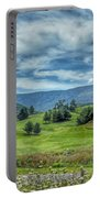 Trees In The Valley Portable Battery Charger