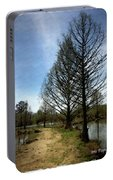 Trees In Water Garden Portable Battery Charger