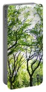 Trees Of Central Park, Nyc Portable Battery Charger