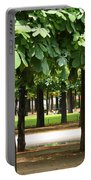 Trees Of Tuilieres Portable Battery Charger
