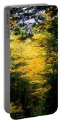 Trees Over The Flumes Gorge Portable Battery Charger