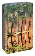 Trees Reflecting Portable Battery Charger