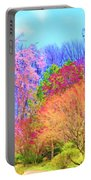 Trees With Color Portable Battery Charger