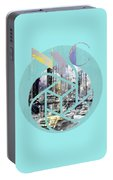 Trendy Design New York City Geometric Mix No 4 Portable Battery Charger by Melanie Viola