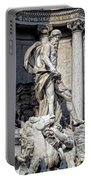 Trevi Fountain - Rome Portable Battery Charger