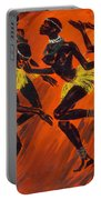 Tribal Dance Portable Battery Charger