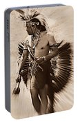Tribal Dancer Portable Battery Charger