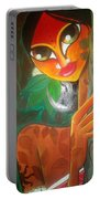 Tribal Lady Portable Battery Charger