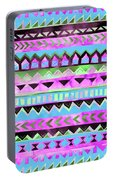 Tribal Pattern 01 Portable Battery Charger