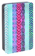 Tribal Pattern 04 Portable Battery Charger