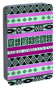 Tribal Pattern 06 Portable Battery Charger