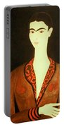 Tribute To Frida Portable Battery Charger