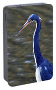 Tricolored Heron Pose Portable Battery Charger