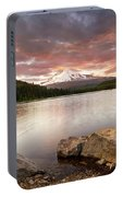 Trillium Lake Sunset Portable Battery Charger