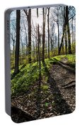Trillium Trail Portable Battery Charger by Matt Molloy