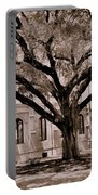 Trinity Episcopal Cathedral Court Yard Portable Battery Charger