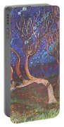 Trinity Tree By Moonlight Portable Battery Charger