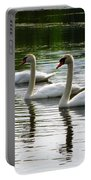 Triplet Swans Portable Battery Charger