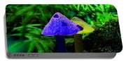 Trippy Shroom Portable Battery Charger