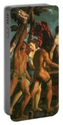 Triumph Of Bacchus 1514 Portable Battery Charger