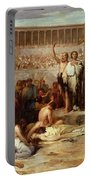 Triumph Of Faith    Christian Martyrs In The Time Of Nero Portable Battery Charger